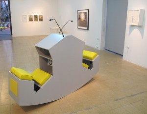 Grayson Cox, Ergonomic Discussion Lectern installed at Bezalel in Tel Aviv
