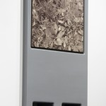 Grayson Cox, The Interface della Verita, 2012, wood, enamel, bleach and brushed dye on canvas (2)
